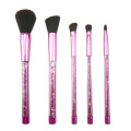 5PC Glitter Make-up Pinsel Set