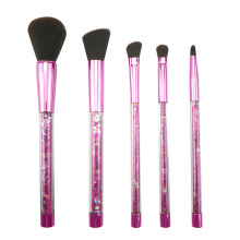 5PC Glitter Makeup Brush Set