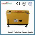 10kVA Generador de energía eléctrica diesel a prueba de sonido Generación