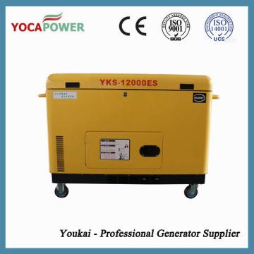 10kVA Schalldichte Diesel Elektrische Generator Stromerzeugung