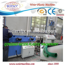 alta velocidade de plástico PE PP PVC Corrugado linha da extrusão da tubulação