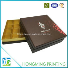 Wholesale Luxury Chocolate Box with Paper Divider