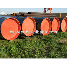 Precio de la tubería de la sierra ASTMA53 / A106 / API5L por tonelada