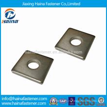Нержавеющая сталь 304/316 Квадратные шайбы для использования в деревянных конструкциях
