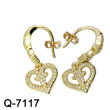 Los más nuevos estilos de chapado en oro 925 Sterling Silver Earring