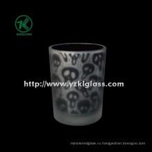 Цветные стеклянные чашки для свечей от SGS (KLB130916-192)