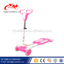 Wholesale new model kids 4 wheel scooter/pro folding kick kids 4 wheel scooter/lighweight aluminum cheap kids scooter