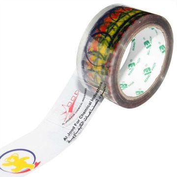 Bedrucktes Karton-Dichtband (BOPP-Folie + Wasserbasis-Acryl)