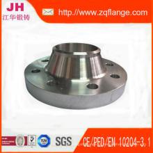 ANSI b 16.5 150LB solda pescoço Flange do tubo de aço carbono