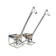 Automatic stainless steel powder granule flour screw feeder tubular auger conveyor inclining elevator