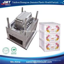 productos domésticos plástico de la caja de la batería de la batería de la inyección del molde de plástico precio de fábrica