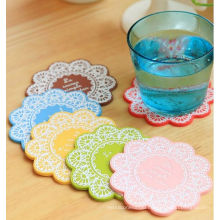 Silicone Cup Mat with Negative Ions in High Quality