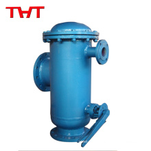 Flanged y strainer ball valves
