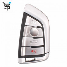 High Quality Car Key Shell For BMW 4 Button Smart Card Remote Replacement Key Shell with blade key YS200027