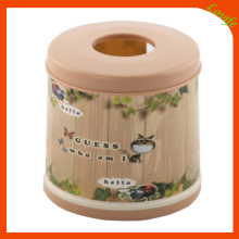 Conical Plastic Round Top Tissue Boxes for Home (FF-5011-1)