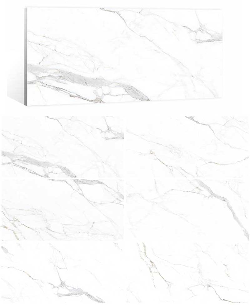 carrara marble look tiles
