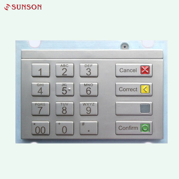 Zahlungskiosk PCI EPP Encrypted Metal Keypad