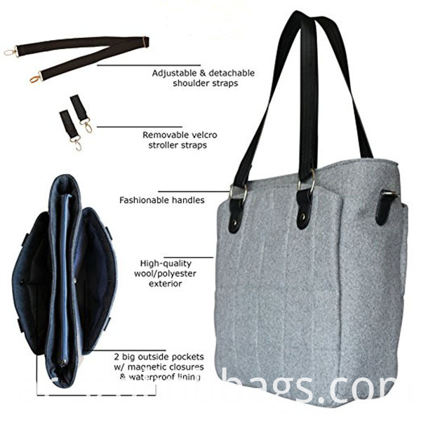 Polyester Diaper Bag