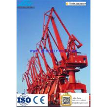 Harbor Portal Crane For Unloading Vessels Port Crane
