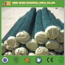 PVC Coated Chain Link Fence for School Playground