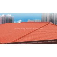 Gazebo de telhado de resina plástica à prova de intempéries Siba