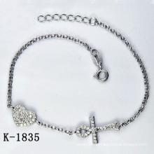 El micro de plata de la manera pavimenta la joyería del ajuste de la CZ (K-1835. JPG)