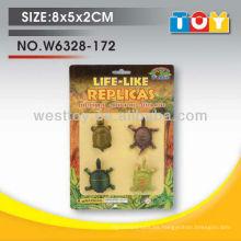 Mini tortuga cuatro estilos de animales salvajes mezclados