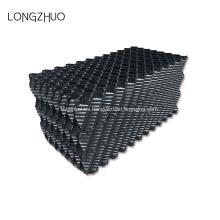 Relleno de lámina corrugada de PVC de 610 mm para torre de enfriamiento