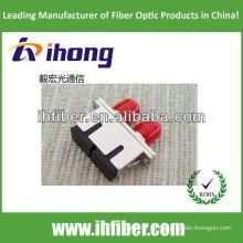 Adaptador de fibra óptica FC-SC dúplex