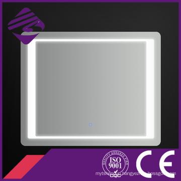 Jnh157 Hot Low Price Rectangle LED Bathroom Chamfer Edge Mirror