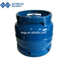 Produktionslinie 6 kg kleine LPG-Gasflasche sicher getestet