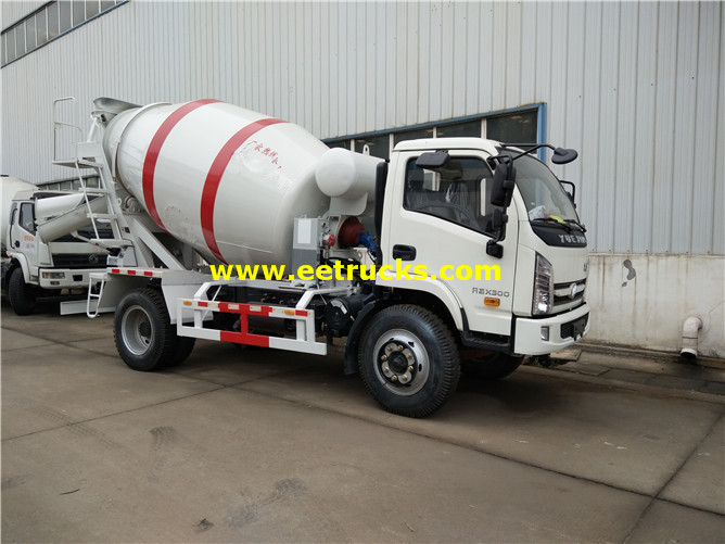 Foton 3000L Used Cement Transport Trucks