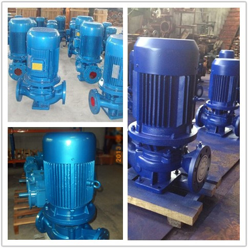 ISG series vertical pipeline centrifugal pump vertical centrifugal pump 2