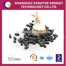 China anthracite coal based activated carbon with columnar shape