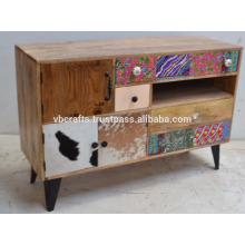 Vintage Loft Industrial Drawer Cabinet