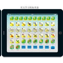 Máquina de aprendizagem das crianças da língua tailandesa do inglês