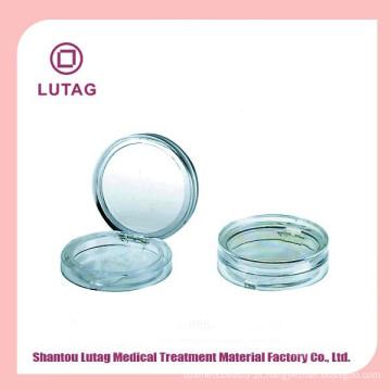 Shantou plástico compacto pó compacto vazio caso