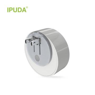 Ipuda a3 mini led 0.5 w casa de emergência controle de luz da noite auto sensor do bebê quarto lâmpada