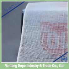 el rollo de gasa absorbente del algodón del borde esteriliza, vendaje tejido de la gasa del borde