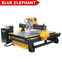 1325 Wood Door Carving Machine, CNC Router with Two Spindles for Furniture Manufacturing