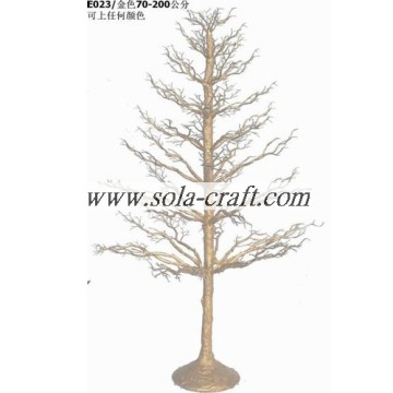 Artificial 70CM Gold Wedding Tree For Decor