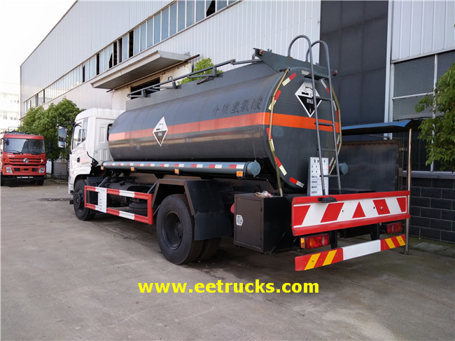 Hydrochloric Acid Transport Tanker