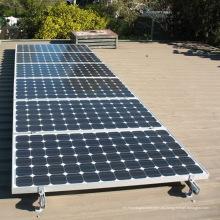 Techo corrugado Solar L Gancho L Forma Kit Aluminio Panel solar Montaje