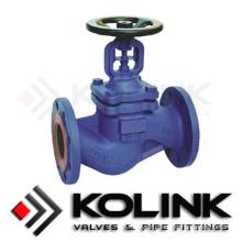 Шарнирный сильфонный клапан в углеродистой стали / нержавеющей стали