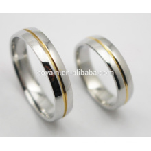 Wholesale Couples 316L Stainless Steel Wedding Ring