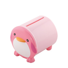 Cartoon Design Penguin Shape Plastic Tissue Box