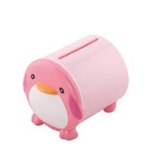Мультфильм Дизайн Пингвин Форма Пластиковые коробки ткани