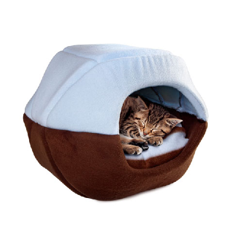 2 In 1 Domed Pet Bed 2