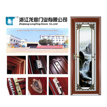 Popular Bathroom Aluminum Casement Doors
