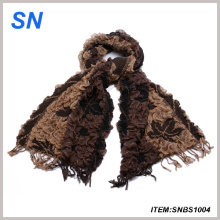 2014 Fashion Lady′s Winter 3D Chunk Bubble Scarf (SNBS1004)
